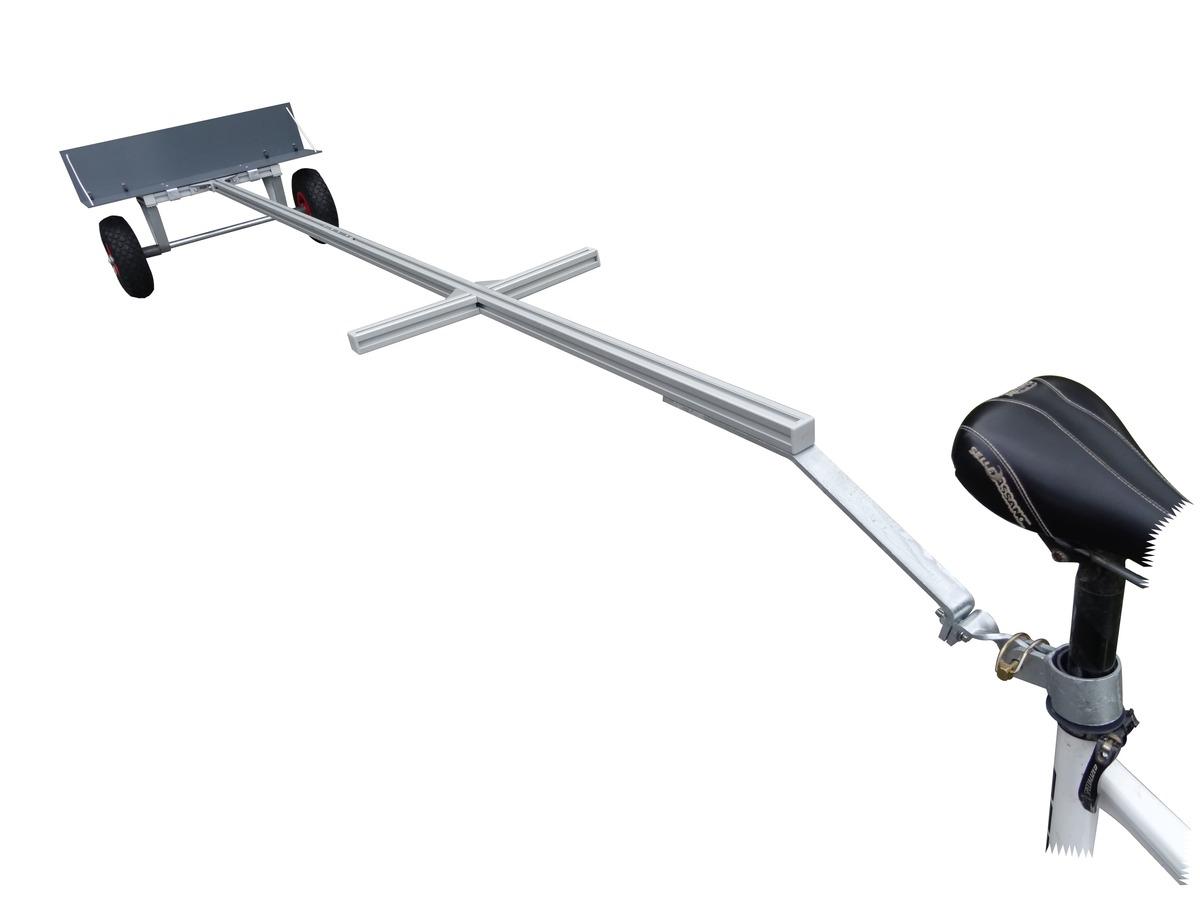Chariot Planche A Voile Surf Et Sup Pour Velo Modele Mr Fpa Surf Trailer Com