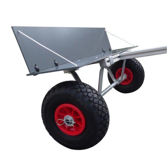 chariot planche à voile surf et paddle pour vélo